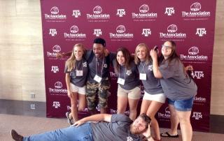 Grad Camp 2016- Counselors posing