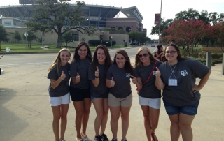 Grad Camp 2015 - Campers posing