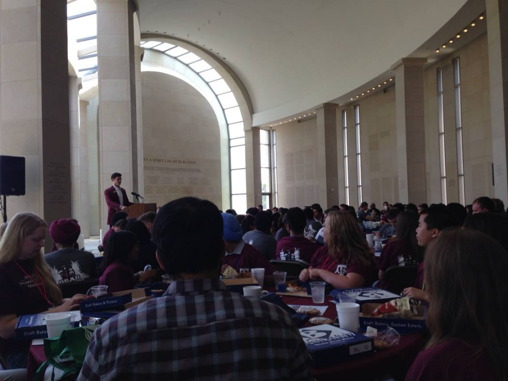 Grad Camp 2015 - Speaker at Lunch