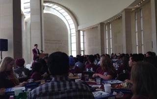 Grad Camp 2015 - Speaker at Lunch